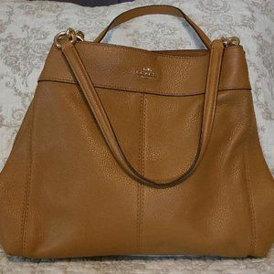 Coach leather bag NWOT